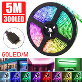 5M DC12V Non-waterproof Warm White Pure White RGB 3528 SMD Flexiable LED Strip Light for Indoor Home Decor