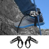 Outdoor Mountaineering Rock Climbing Left Foot Rope Ascender Riser Equipment Device Tool