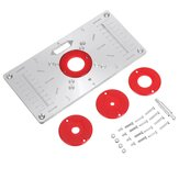 Router Table Insert Plate Woodworking Benches Table Saws For Multifunctional Wood Plate Machine Engraving 4 Rings Tool