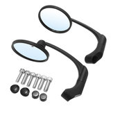 Universal 8/10mm Round Retro Modified Motorcycle Motorbike Cafe Racer Rearview Mirrors