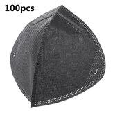100Pcs Face Mask Filter 99% Dust Proof Reusable Respirator Inner Filter Pollution Running Sports Pad