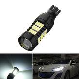 1 Adet T15 LED Araba Yedekleme Ters Işıklar Geniş Sis Lamba Ampul 21 W 850LM DC12-24V 6000 K