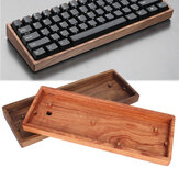GH60 Solid Wooden Case Disesuaikan Shell Basis Untuk 60% Mini Keyboard Gaming Mekanis