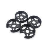 4 PCS 3D Printing TPU 2306 Motor Mount Base Protection Cover for 23XX Series Motor 16x16mm Hole Compatible with Geprc Mark4 FPV Racing Drone