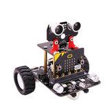 Kit de faça você mesmo para carro robô inteligente com rodas programável Yahboom para micróbio