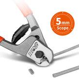 8-Zoll-Kabelschneiderzange Elektrostahl Eisen Drahtschneiden Handwerkzeuge Professionelle Industriequalität