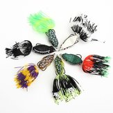 6pcs/Lot Fishing Soft Lures Ray Frog Bait Fishing Lure Bait with Lure Box