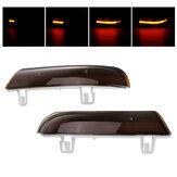 Para Dynamicznych świateł kierunkowskazów LED Światła lustrzane Bursztynowe do VW Golf 5 Jetta MK5 Passat B6