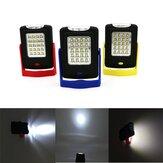 Lanterna 5W Portabile 23 LED Magnetica con Gancio per Campeggio Lavoro Esterno Appendibile
