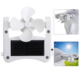 USB Fan Mini Portable Solar Cap Clip Solar Panel Powered for Cooling Travelling Camping