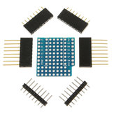 3Pcs ProtoBoard Shield Erweiterungskarte für D1 Mini Double Sided Perf Board kompatibel