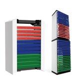 12 folhas 36 folhas CD de jogo Caixa Rack de armazenamento de disco para PS5 disco duplo armazenamento Caixa Suporte de jogos Acessórios
