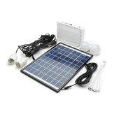 10W Lithiumbatterij op zonne-energie verlichtingssysteem