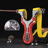 Laser Alloy Double Aiming Catapults High Power Outdoor Hunting Shooting Slingshots Laser Aiming Slingshots