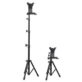 UNHO GF023 Universal Telescopic 3 Modes Height Adjustable Online Learning Live Streaming Metal Tripod Stand Tablet Stand Holder for iPad 4-11.5 inch Device