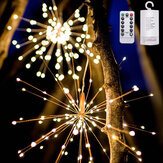 DIY Starburst Fairy Solar String lights for Garden Decoration Bouquet LED String Christmas Festive lights