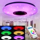 48W 102 LED RGBW Lâmpada de teto Starlight Music Light Bluetooth Sala de estar Quarto APP Controle AC85-265V