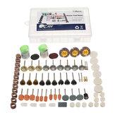 Acessóriosdeferramentasrotativasmultijetoresde 133pcs, conjunto de kits de perfuração de polimento de trituração para Dremel