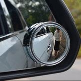 1pcsVeículode360° de Rotação Espelho Do Ponto Cego Espelho Retrovisor Dirigindo Invertendo Aid Espelho
