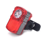 XANES TL01 Bicycle Light 80LM Double/ Multicolor Light Modes USB Rechargeable Waterproof Warning Tailight