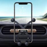 Essager Mini Gravity Linkage Automatic Замок Air Vent Авто Держатель телефона Авто Крепление для 4.0-6.5 дюймов Смартфон Для iPhone SE 2020 Xiaomi Huawei
