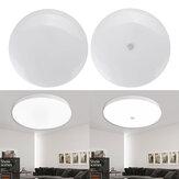 18W ronde LED-plafondverlichting Infraroodsensor / spraak- en lichtregeling Nacht