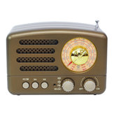 Portatile AM FM AUX Vintage Retro Radio SW Bluetooth Speaker TF Card Lettore musicale MP3 USB