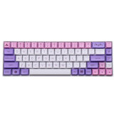 MechZone 135 touches Sakura Keycap Set PBT XDA Profile Sublimation Two Color Keycaps pour GH60 61 64 66 68 87 96104 touches clavier mécanique