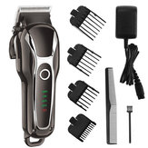 SURKER Barber Salon Electric Capelli Clipper ricaricabile LED