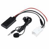 Adaptateur de câble audio Bluetooth pour voiture 5 broches Câble AUX 12V avec Micro pour Ford Falcon