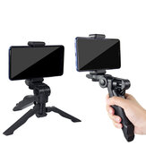 Bakeey Mini Desktop Tripod Holder with Phone Clip for Smartphones for Camping Hunting Sports