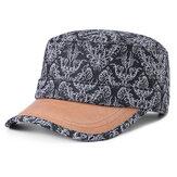 Chapéus lisos da protecção solar da cópia do algodão dos homens das mulheres