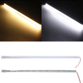 50CM 10W DC12V LED Rigid Strip Licht 36 SMD 7020 Aluminiumlegering Shell Cabinet Lamp Bar