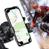FlovemeBikePortabicicletteconmorsettoper manubrio Rotazione a 360º per Smart Phone 4.0-6.8 Pollici