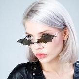 Unisex Kişilik Yaratıcı Yarasa Şekli Moda Trendi UV Koruma Güneş Gözlüğü
