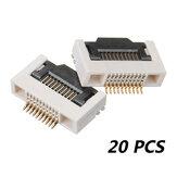 20 PCS FPC 0.5MM H2.55 10P-Anschluss Flip Lower Interface Buttom Port Für FPV Monitor Goggles Displayer