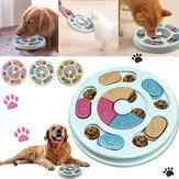 Juegos de entrenamiento de mascotas Dispensador de golosinas para cachorros antideslizante Dispensador de golosinas para cachorros Juguete de alimentación para mascotas Juego de mascotas Placa