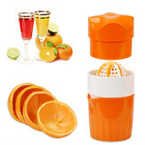 Mini spremiagrumi a mano arancione Spremiagrumi campeggio Picnic Travel Fruit DIY Manual Press Juicer Cup