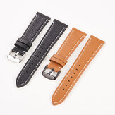 Bakeey 18/20/22mm Soft Universal Genuine Leather Watch Band