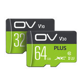 OV PLUS UHS-I U1 U3 32GB 64GB 128GB 256GB Class 10 High Speed ​​Data Storage TF بطاقة Flash Memory بطاقة