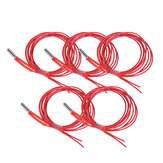 Anet® 5Pcs 24V 40W 1.5m Single End Cartridge Heater Heating Tube for RepRap Prusa i3 A8/A8 Plus 3D Printer
