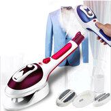 800Wミニハンドヘルド衣類スチーマーポータブルトラベルスチームアイロン温度3レベル家庭用および出張用に調整可能