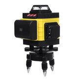 12/16 Linha 4D Luz Verde Laser Nível 6000mAh Grande Bateria Capacidade Digital Autonivelante 360 ° Medida Rotativa