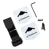 Fishbonne DIY FPV Racing Drone Backpack Spare Part Hang Set Strap Tie & Mounting Plate