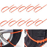 10PCS Car Truck Snow Ice Mud Chains Wheel Tyre Tire Anti Skid Thickened Tendon