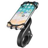 Soporte de Teléfono de Mango de 4.7-6.0 pulgadas Montaje de Correa de Silicona Motocicleta Bicicleta Universal