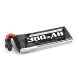 Emax Nanohawk Spare Part 1S 4.35HV 300mAh 80C Lipo Battery for Tiny Whoop RC Drone FPV Racing