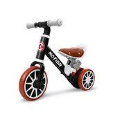 PORSA PIM 2-in-1 multifunctionele kinder driewieler baby loopfiets kinderen fiets met afneembaar pedaal voor 1-4 jaar oude baby