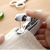 Portable Manual Sewing Machine Home Pocket Mini Tailor Stitch Needlework Thread