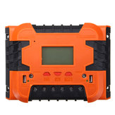 PWM 12V / 24V Solar Charge Controller Podświetlenie wyświetlacza LCD 10A / 20A / 30A / 40A / 50A / 60A baterii